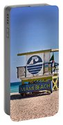 Miami Beach Lifeguard Station Portable Battery Charger