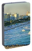 Miami Beach Sunset Portable Battery Charger