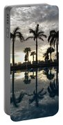 Miami Sunset Portable Battery Charger