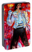 Michael Jackson I'll Be There Portable Battery Charger