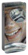 Michael Jackson - Mosaic Portable Battery Charger