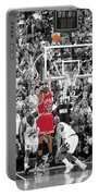 Michael Jordan Buzzer Beater Portable Battery Charger by Brian Reaves
