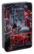 Michael Schumacher Out Of The Darkness Portable Battery Charger