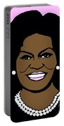 Michelle Obama Portable Battery Charger by Jost Houk