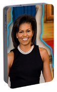 Michelle Obama Portable Battery Charger