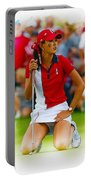 Michelle Wie Of The Usa Solhiem Cup Reacts After Missing A Putt Portable Battery Charger