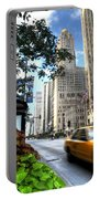 Michigan Avenue Chicago Illinois Portable Battery Charger