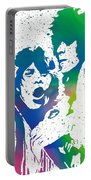 Mick Jagger And Keith Richards Portable Battery Charger
