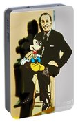 Mickey And Walt Portable Battery Charger