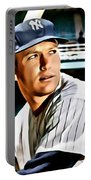 Mickey Mantle Portable Battery Charger