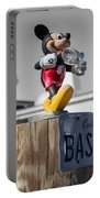 Mickey On A Post Portable Battery Charger