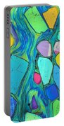 Art And Geology Portable Battery Charger