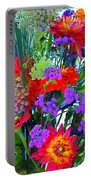 Mid August Bouquet Portable Battery Charger