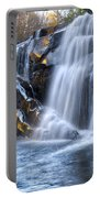 Middle Falls At Snowbird Creek Portable Battery Charger