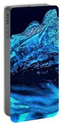 Midnight Blue Sea Shell Portable Battery Charger