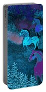 Midnight Horses Portable Battery Charger
