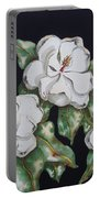 Midnight Magnolia Portable Battery Charger