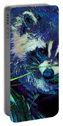 Midnight Racoon Portable Battery Charger