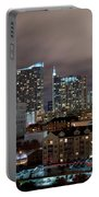 Midtown Atlanta Skyline Portable Battery Charger