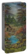 Midwestern Landscape Portable Battery Charger
