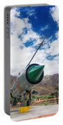 Mig-21 Fighter Plane Of Indian Air Force Used In Kargil War Displayed As Victorious Memory Portable Battery Charger
