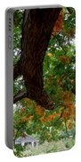 Might Fall Oak #3 Portable Battery Charger