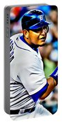 Miguel Cabrera Painting Portable Battery Charger