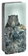 Mika Animals Portable Battery Charger