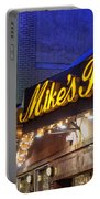 Mike's Pastry Shop - Boston Portable Battery Charger by Joann Vitali