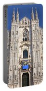 Milan Cathedral  Portable Battery Charger by Antonio Scarpi