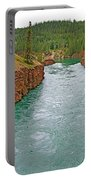 Miles Canyon In Whitehorse-yt Portable Battery Charger