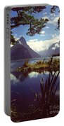Milford Sound In New Zealand's Fiordland National Park Portable Battery Charger