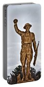 Military Soldier Memorial Portable Battery Charger