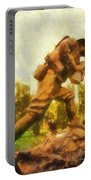 Military Ww I Doughboy 01 Photo Art Portable Battery Charger