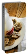 Milk And Cookies Portable Battery Charger