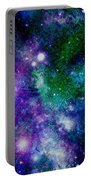Milky Way Abstract Portable Battery Charger