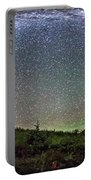Milky Way Over Red Rock Canyon Portable Battery Charger