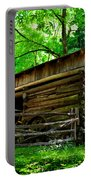 Mill House Barn Portable Battery Charger by David Lee Thompson