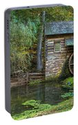 Mill Pond In Woods Portable Battery Charger