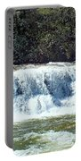 Mill Shoals Waterfall During Flood Stage Portable Battery Charger