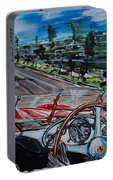 Mille Miglia On Board With Peter Collins Portable Battery Charger