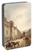 Milsom Street, From Bath Illustrated Portable Battery Charger