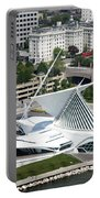 Milwaukee Art Museum Aerial Portable Battery Charger