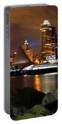 Milwaukee Skyline At Dusk Portable Battery Charger