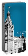 Milwaukee Skyline City Hall - Steel Portable Battery Charger