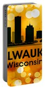 Milwaukee Wi 3 Portable Battery Charger by Angelina Vick
