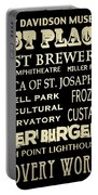 Milwaukee Wisconsin Famous Landmarks Portable Battery Charger