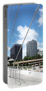 Milwaukee Wisconsin Skyline Portable Battery Charger