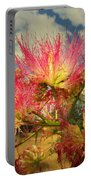 Mimosa Blossoms Portable Battery Charger