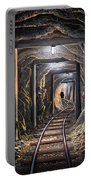 Mine Shaft Mural Portable Battery Charger